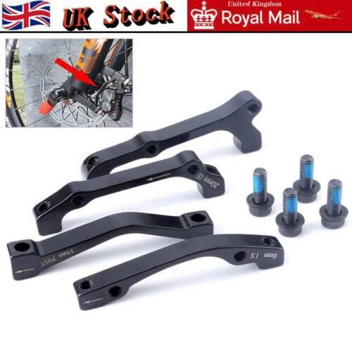 MTB Bike Disc Brake Caliper Adapter Post Mount PM 160//180mm Rotor Front Rear UK