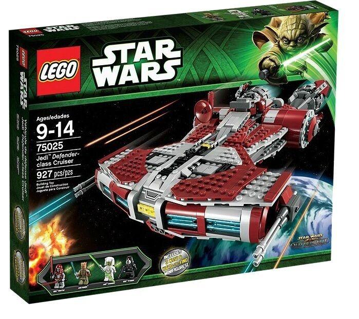 LEGO®  Star Wars™ 75025 Jedi™ Defender-class Cruiser NEU OVP
