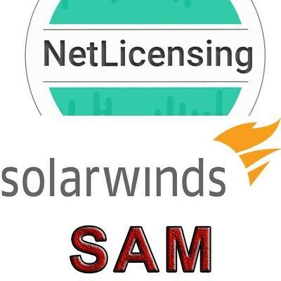 Streng Solarwinds Server & Application Monitor, Perpetual/full Feature License Het Hele Systeem Versterken En Versterken