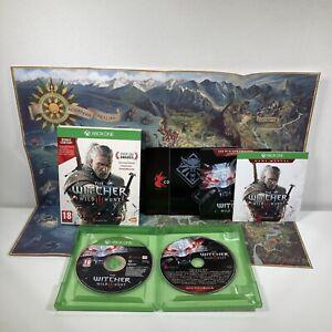 Microsoft Xbox One Spiel Der Hexer 3: Wild Hunt + Soundtrack + Karte + Aufkleber