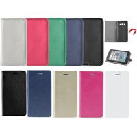Huawei P9 Lite 2017 Klapp Tasche Hülle Book Case Cover Flexi Case SMART MAGNET