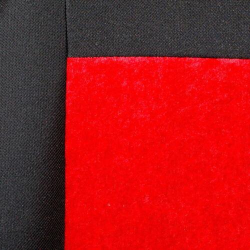 Roter Glänzender Velours Sitzbezüge für CHEVROLET ORLANDO Autositzbezug VORNE