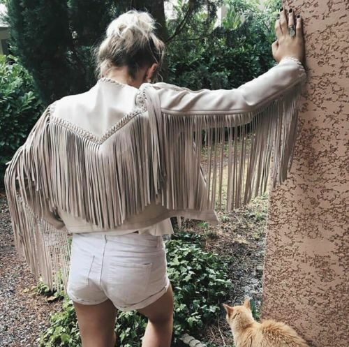 c3ab9779 ZARA FAUX SUEDE JACKET WITH FRINGE SIZE XS S M REF 6318 023 NEW SS17 ...