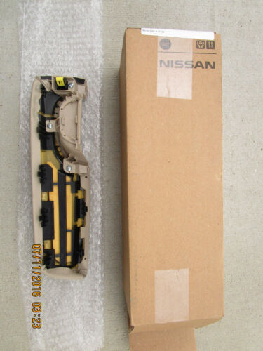 07-12 NISSAN ALTIMA FRONT DRIVER SIDE INTERIOR DOOR HANDLE ARM RESTER LEATHER