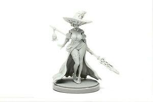 1:35 30mm Kingdom Death Disciple of the Witch - One Resin Model Kit Unpainted