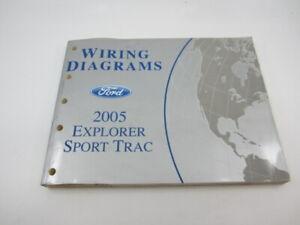 2005 Ford Explorer Sport Trac Electrical Wiring Diagram Manual XLS XLT  Adrenalin | eBayeBay