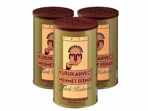 Turkish Coffee by Kurukahveci Mehmet Efendi, Best Roasted Ground Coffee Can