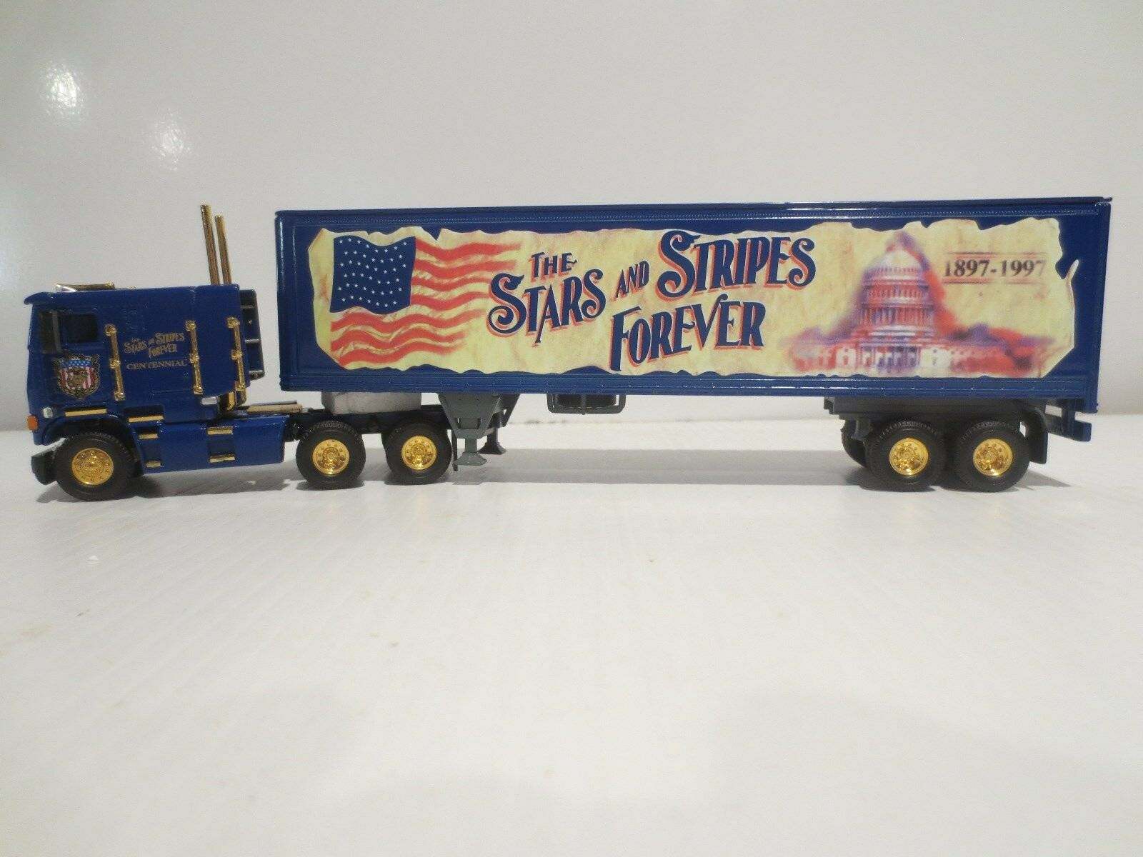 Matchbox Edición Limitada Stars & Stripes 100th aniversario 1 58 camión Perfecto