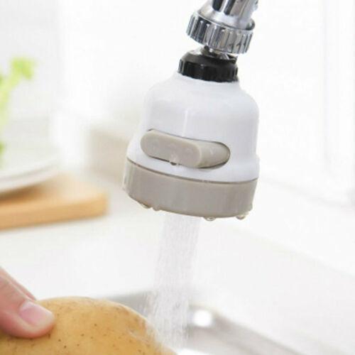 Rotate Swivel Faucet Nozzle Filter Adapter Water Saving Tap Aerator Diffuser
