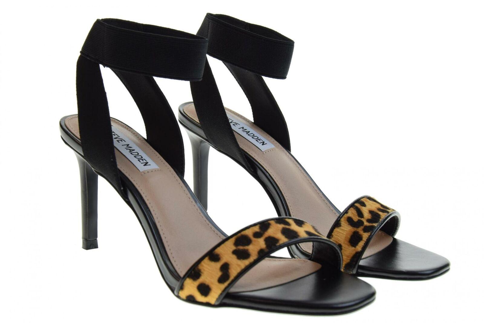 Steve madden p19f womens fade leopardato sandals heels