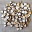 DIY-3D-Xmas-Tree-Pendants-Hanging-Wooden-Christmas-Decoration-Home-Party-Decor miniatura 30