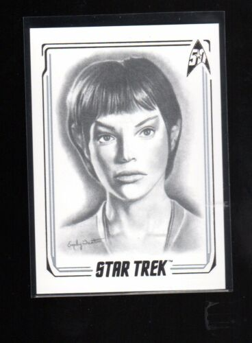 Star Trek 50th Anniversary Commander T,Pol A45 Artifex card