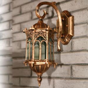 Waterproof Wall Sconce Lantern Lamp