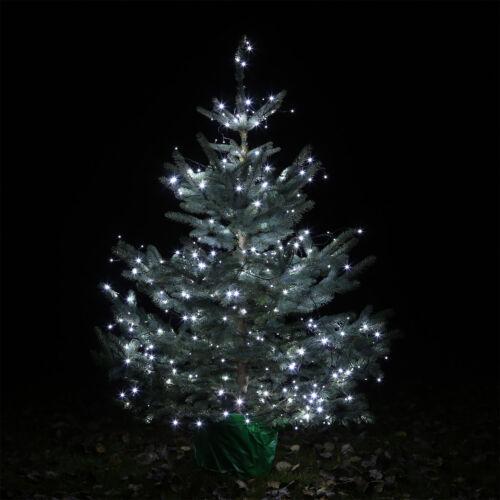 LED Lichterkette CLGarden LEDLK400 kalt weiss Weihnachtsbaum innen aussen 40m