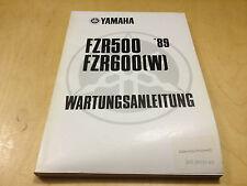 Werkstatthandbuch FZR 500 / FZR 600 (W) (1989)