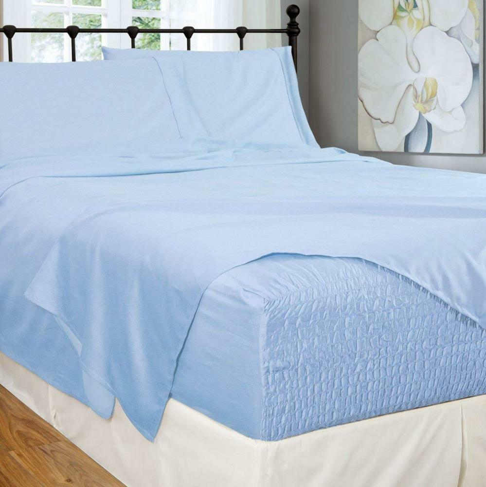 Bed Tite Stretch Fit 300-Thread Count 100-Percent Cotton Ultra Luxurious...