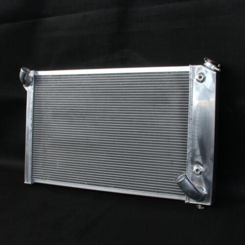 3 Row//Core Aluminum Radiator For Chevrolet Corvette 5.7L V8 AT 69-72 Small Block