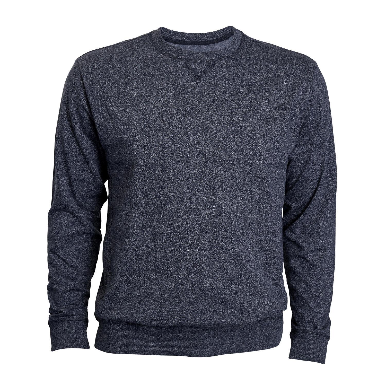Sweatshirt von North 56°4 für Herren in blaumeliert 3XL 4XL 5XL 6XL 7XL 8XL