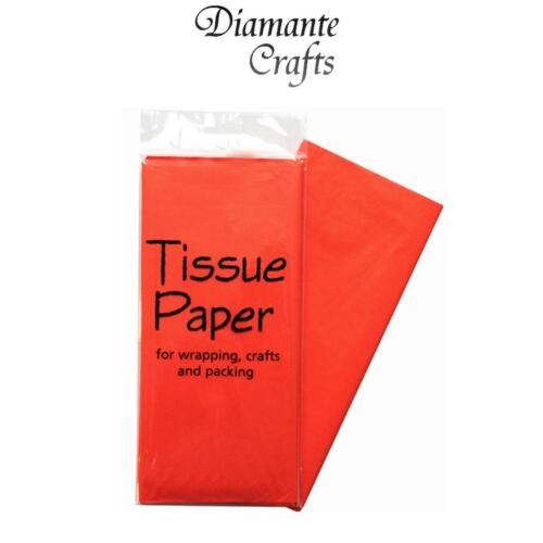Choose Amount Colour Tissue Paper Luxury Acid Free 50 x 70cm Sheets Wrapping