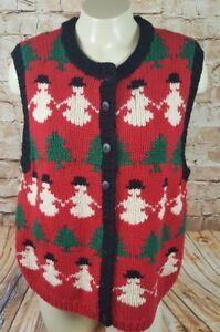 image is loading marisa christina cute ugly christmas sweater vest women - Cute Ugly Christmas Sweater