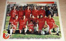 FIGURINA CALCIATORI PANINI 1997/98 652 TURRIS ALBUM 1998