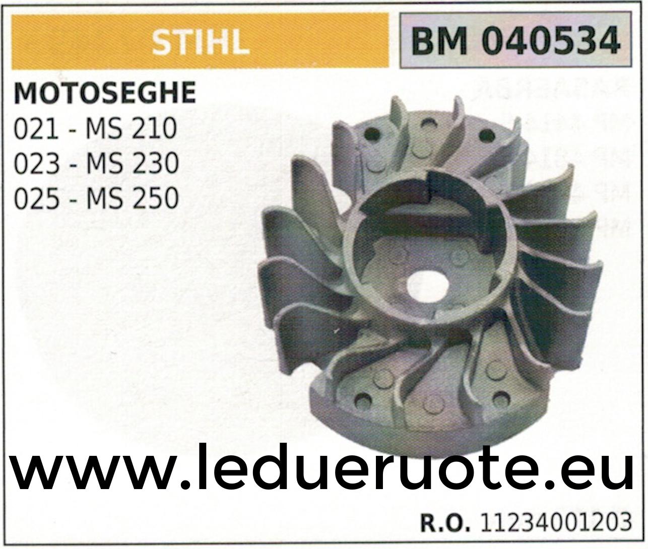 11234001203 VOLANO MAGNETICO magnete ventola MOTOSEGA STIHL MS 210 230 250