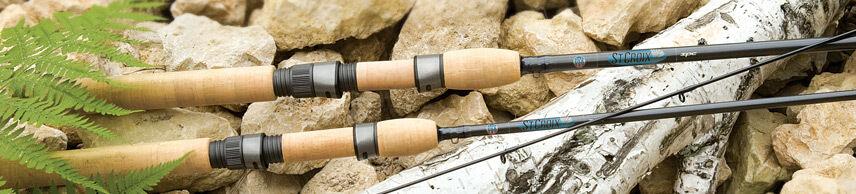 St. Croix Avid Salmon & Steelhead Spinning Rod AVS106MF2 10'6  Medium, Fast