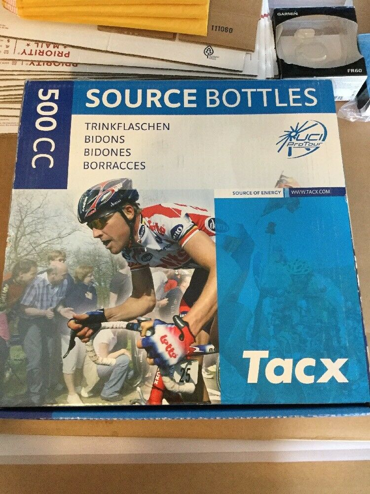 Tacx Source Of Energy Cycling Water Bottles Box Of 25 500cc  (5815)
