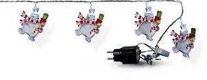 Hermoso-Cadena-de-Luces-Led-Muneco-de-Nieve-20-Figuras-de-Colores-Motivo-Navidad