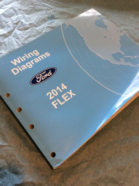 2014 Ford Flex Service Manual Electrical Wiring Diagram Oem Workshop Schematic