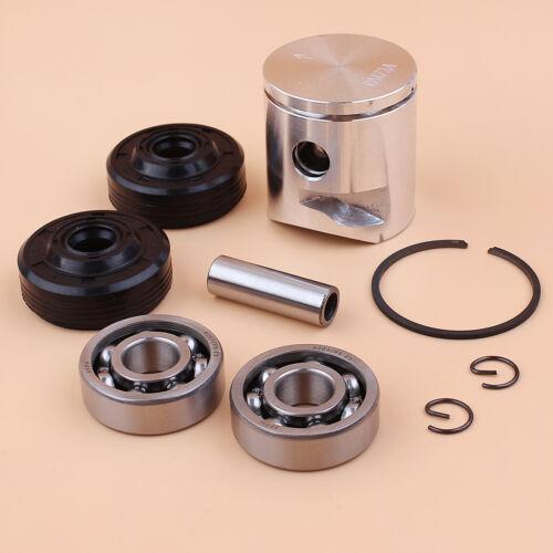 39mm Piston Ring Crank Bearings Seal Kit Fit Husqvarna 236 240 240E 236E 235 Saw