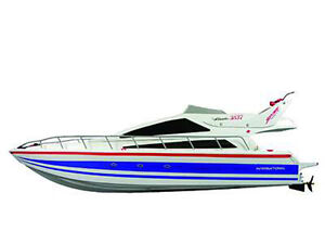 RC-Rennboot-Speedboot-Atlantic-Komplettset-73cm-Lang-NEU