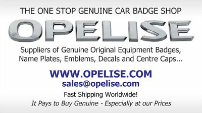 OPELISE.COM-Genuine OE Car Badges