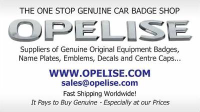 OPELISE.COM-Genuine OE Car Badges