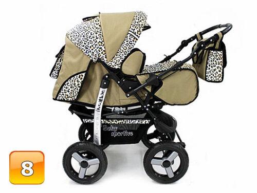 Baby Pram Stroller Pushchair Car seat Carrycot Buggy Travel system