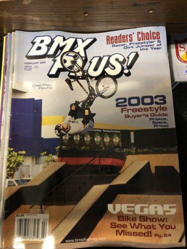BMX Plus magazine back issues 2004 ride bmx action plus mid schook gt dk S/&M se