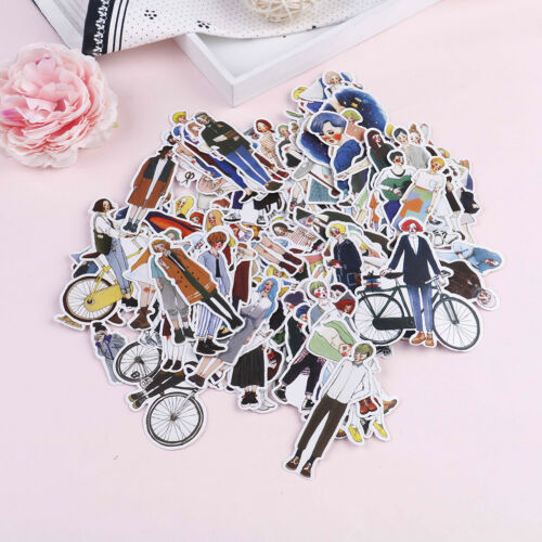 280Pcs//pack Pretty girls stickers scrapbooking DIY diary albums notebook decor==