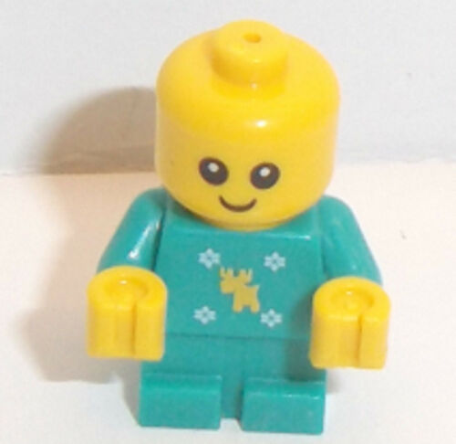 Lego Baby Minifigure x 1 Dark Turquoise *RARE SIZE 1 x 1 x 2 VERY SMALL TINY*