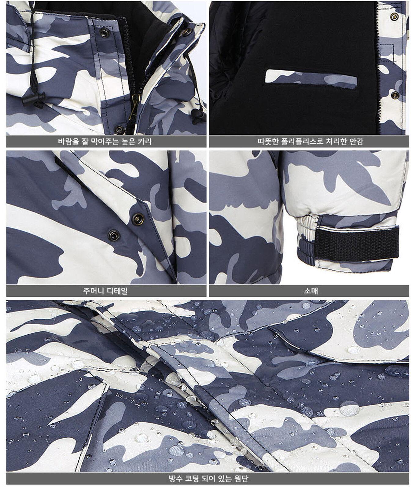 2019  Premium Premium Premium Edition Southplay Winter Waterproof  Camo Ivory Military Jacket 014bdf