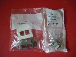 5-x-NEXANS-LANmark-Cat-Kat-6A-Datendose-Netzwerkdose-RJ45-up-10x-Module-500-Mhz