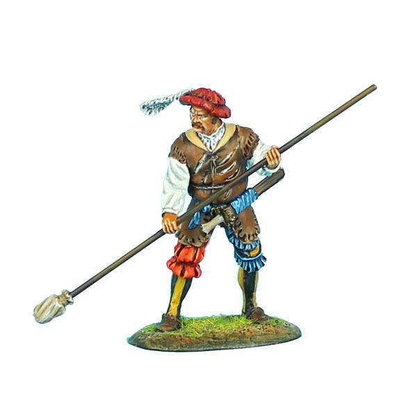 REN023 Landsknecht Artillery Gunner with Rammer by First Legion