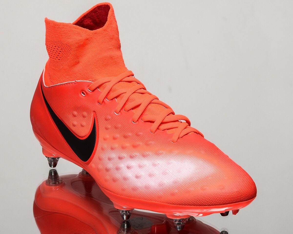 Nike cleats Magista Orden II SG 2 men soccer cleats Nike football NEW crimson 844521-806 a02a9c