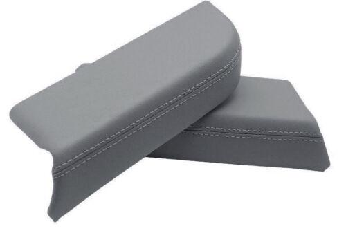 For 09-15 Honda Pilot Leather Door Panel Armrest Gray