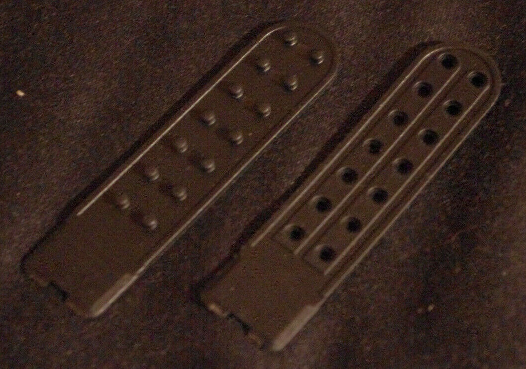 Doppel 2Fach Schwarz Black Snapback Cap Ersatz Riemen Schnalle Verschluss Kappe