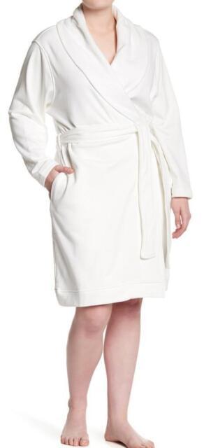 New in Box - UGG Blanche Cream Plush Shawl Collar Robe Size 3X cfa38ebac
