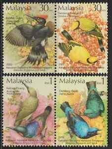 290-MALAYSIA-2002-TROPICAL-BIRDS-SET-FRESH-MNH-CAT-RM-8
