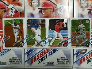 2021 Topps Baseball (1-165) COMPLETE YOUR SET - YOU PICK FROM LIST
