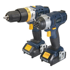 GMC-18v-Impact-Driver-and-Drill-Twin-Pack-Li-on-Batteries-Cordless
