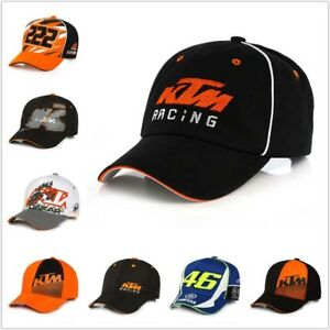 018aa115034 KTM Racing MOTO GP Motorcycle Cap Men Women Snapback Hats Letters ...