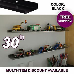 30-034-ultraLEDGE-Black-LEGO-Display